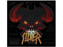 Metal Silver Demon