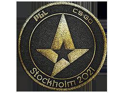 Astralis (Gold)   Stockholm 2021