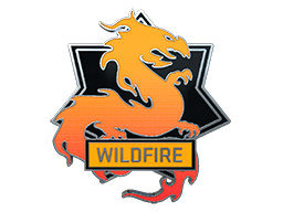 Wildfire Pin