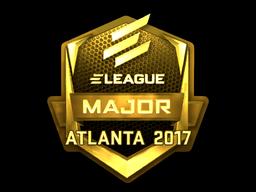 Sticker | ELEAGUE (Gold) | Atlanta 2017
