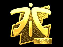 Sticker | Fnatic (Gold) | Atlanta 2017