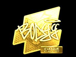 Sticker | bodyy (Gold) | Atlanta 2017