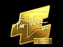 Sticker   kioShiMa (Gold)   Atlanta 2017