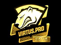 Sticker   Virtus.Pro (Gold)   Atlanta 2017