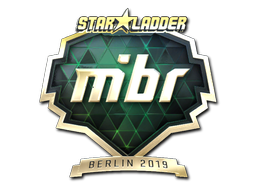 Sticker   MIBR (Gold)   Berlin 2019