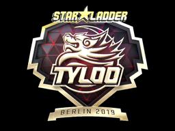 Sticker   Tyloo (Gold)   Berlin 2019