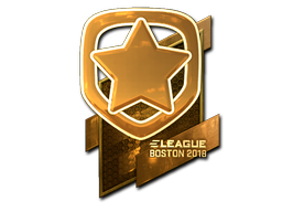 Sticker | Gambit Esports (Gold) | Boston 2018
