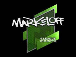 markeloff   Boston 2018