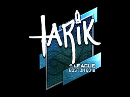 tarik (Foil)   Boston 2018