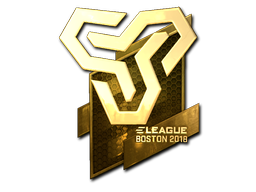 Sticker | Space Soldiers (Gold) | Boston 2018
