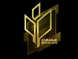 Sticker   Sprout Esports (Gold)   Boston 2018