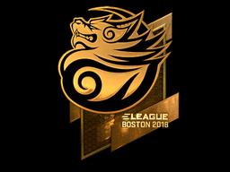 Sticker | Tyloo (Gold) | Boston 2018