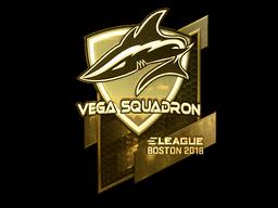 Sticker | Vega Squadron (Gold) | Boston 2018