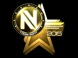 Sticker   Team EnVyUs (Gold)   Cluj-Napoca 2015