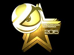 Sticker   Luminosity Gaming (Gold)   Cluj-Napoca 2015