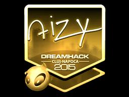 Sticker   aizy (Gold)   Cluj-Napoca 2015