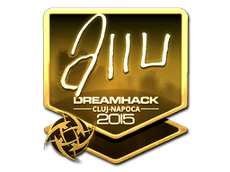 Sticker | allu (Gold) | Cluj-Napoca 2015