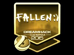 Sticker   FalleN (Gold)   Cluj-Napoca 2015