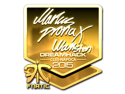 Sticker   pronax (Gold)   Cluj-Napoca 2015
