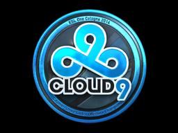 Sticker   Cloud9 (Foil)   Cologne 2014