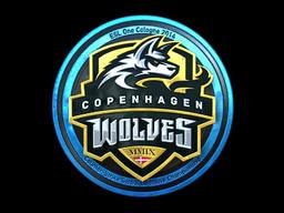 Sticker | Copenhagen Wolves (Foil) | Cologne 2014
