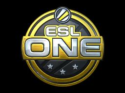 Sticker   ESL One Cologne 2014 (Gold)