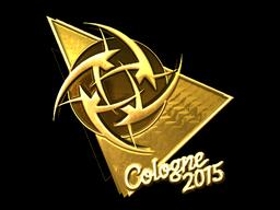 Sticker   Ninjas in Pyjamas (Gold)   Cologne 2015