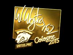 Sticker | TaZ (Gold) | Cologne 2015