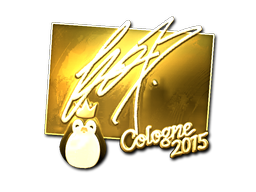 Sticker   fox (Gold)   Cologne 2015