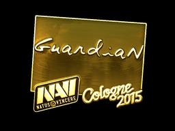 Sticker | GuardiaN (Gold) | Cologne 2015