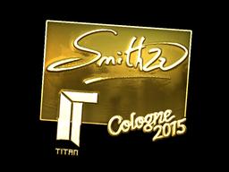 Sticker | SmithZz (Gold) | Cologne 2015