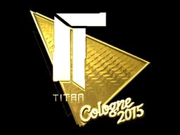 Sticker | Titan (Gold) | Cologne 2015