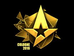 Sticker | Astralis (Gold) | Cologne 2016