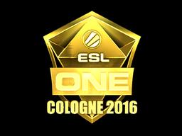 Sticker   ESL (Gold)   Cologne 2016