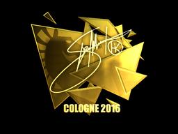 Sticker | Hiko (Gold) | Cologne 2016