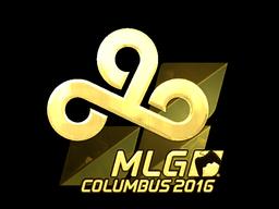 Sticker | Cloud9 (Gold) | MLG Columbus 2016