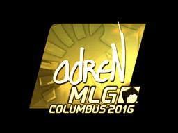 Sticker | adreN (Gold) | MLG Columbus 2016