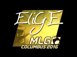 Sticker | EliGE (Gold) | MLG Columbus 2016