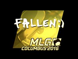 Sticker   FalleN (Gold)   MLG Columbus 2016