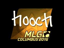 Sticker | hooch (Gold) | MLG Columbus 2016