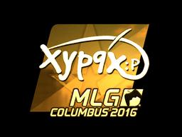 Sticker   Xyp9x (Gold)   MLG Columbus 2016