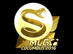 Sticker | Splyce (Gold) | MLG Columbus 2016