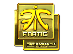 Sticker | Fnatic (Gold) | DreamHack 2014