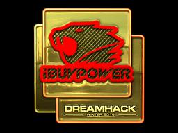 Sticker   iBUYPOWER (Gold)   DreamHack 2014
