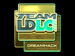 Sticker | Team LDLC.com (Gold) | DreamHack 2014