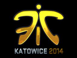Sticker   Fnatic (Foil)   Katowice 2014