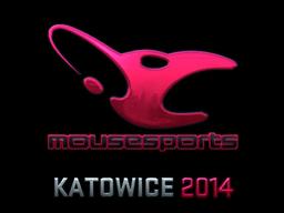 Sticker | mousesports (Foil) | Katowice 2014