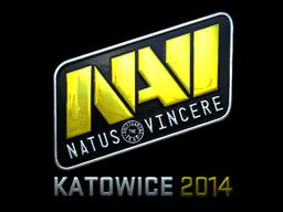 Sticker | Natus Vincere (Foil) | Katowice 2014