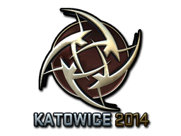 Sticker   Ninjas in Pyjamas (Foil)   Katowice 2014