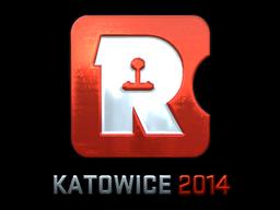 Sticker   Reason Gaming (Foil)   Katowice 2014